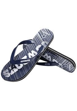 NFL Dallas Cowboys Diagonal Stripe Fade Unisex Flip Flops