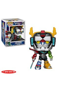 "Pop! 6"" Animation: Voltron- Voltron"