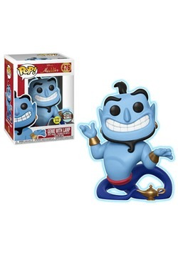 Pop! Disney: Aladdin- Genie with Lamp (Glow)- Specialty Seri