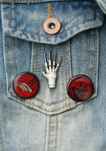 Nightmare on Elm Street Lapel Pin Set