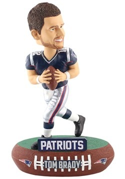 New England Patriots Tom Brady Baller Bobble Head