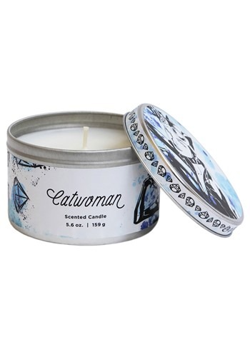 DC Catwoman Tin Candle