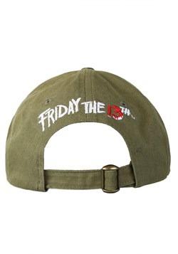 Friday the 13th Camp Crystal Lake Frayed Baseball Cap