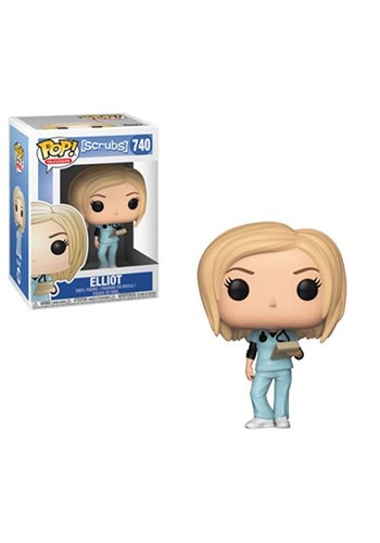 Pop! TV: Scrubs- Elliot Reid Figure