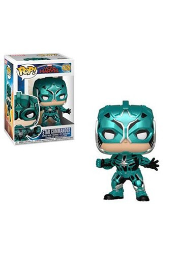 Pop! Marvel: Captain Marvel- Star Commander