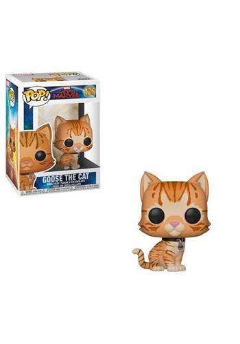 Pop! Marvel: Captain Marvel- Goose the Cat