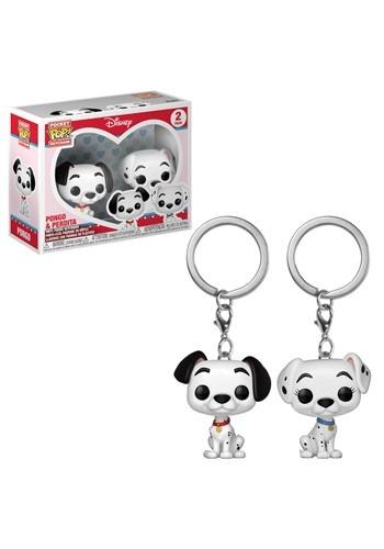 Pop! Keychain: Dalmatians: 2 Pack- Pongo & Perdita