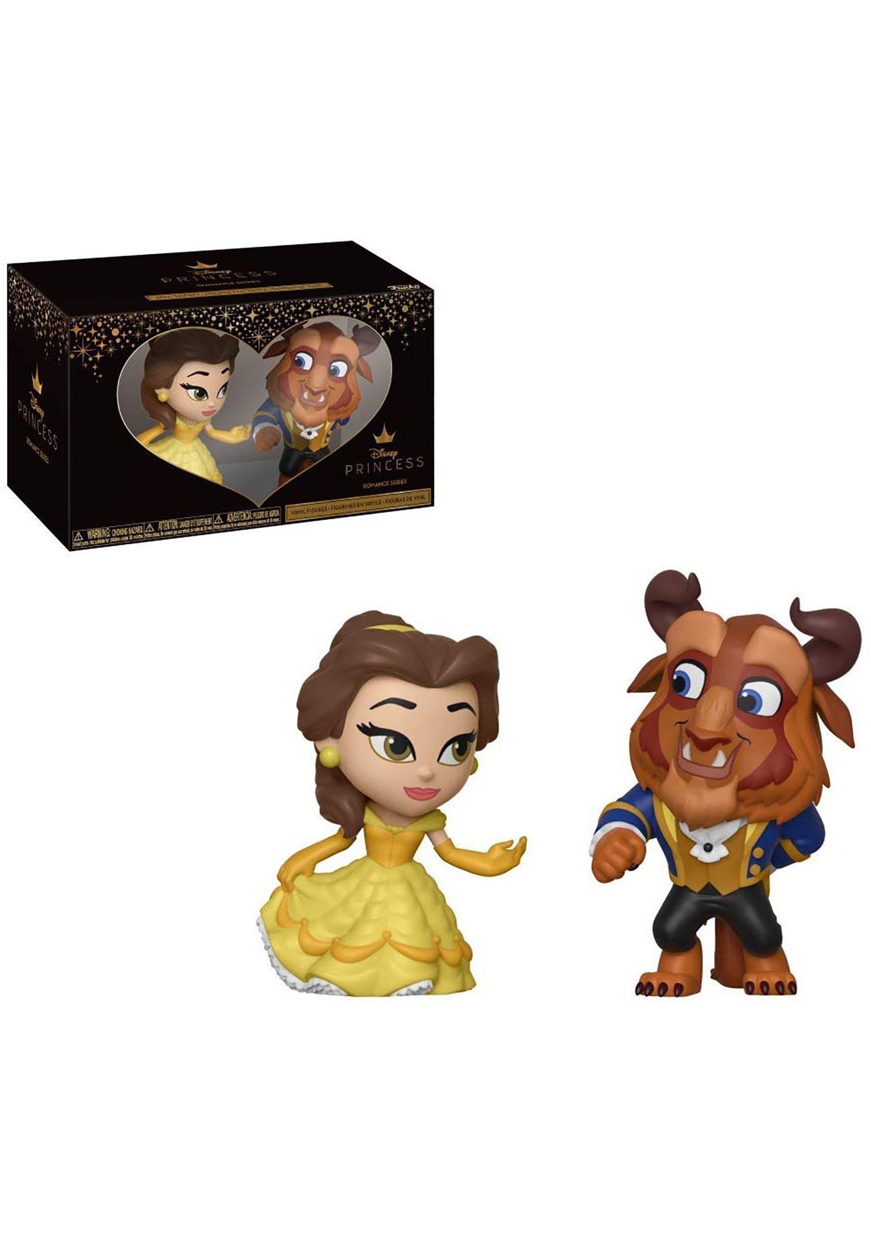 Funko Mini Vinyl Figures: Beauty & the Beast- 2 Pack