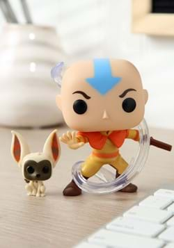 Pop and Buddy Avatar Aang with Momo Figure
