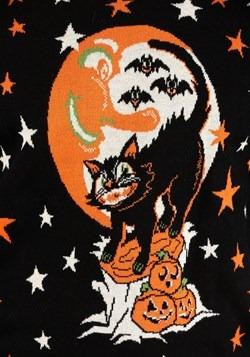 Vintage Halloween Cat Ugly Halloween Sweater