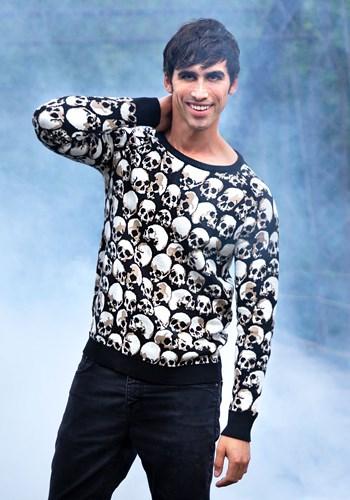 Skulls Galore Ugly Halloween Sweater 1
