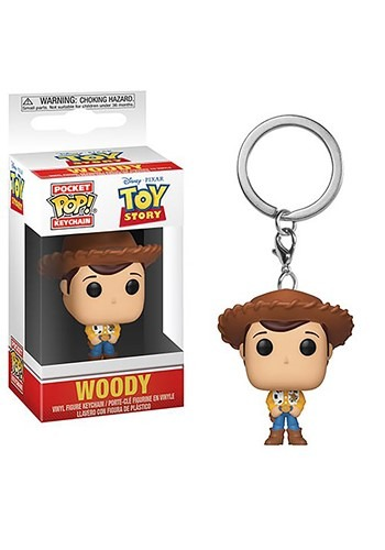 Pop! Keychain: Toy Story- Woody Figure