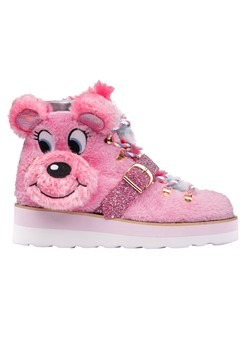 Irregular Choice Big Pink Bear Sneakers main