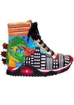 Irregular Choice Family Reunion 'Dinosarum' High Top Sneaker