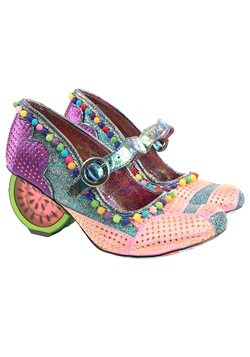 Irregular Choice 'Fruit Punch' Pink/Purple Watermelon Heels