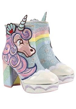 Irregular Choice 'Daisy Dreams' Unicorn Heeled Boots