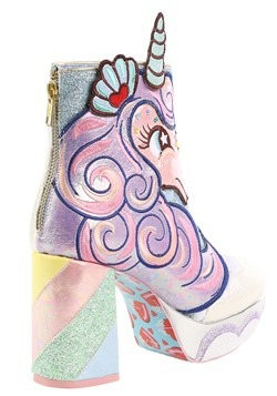 Irregular Choice 'Daisy Dreams' Unicorn Heeled Boots alt2