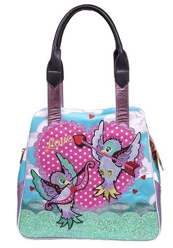 Irregular Choice Cupid Bird Handbag Purse