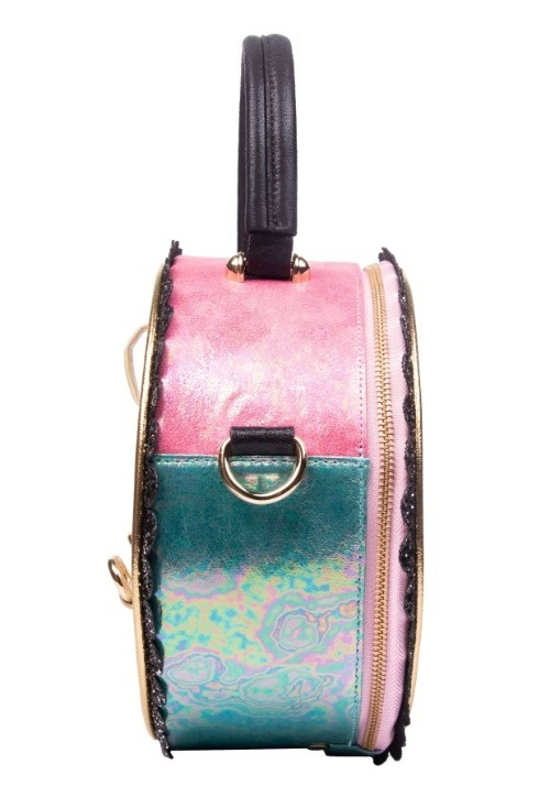 Irregular Choice Donut Worry Pink & White Handbag alt2