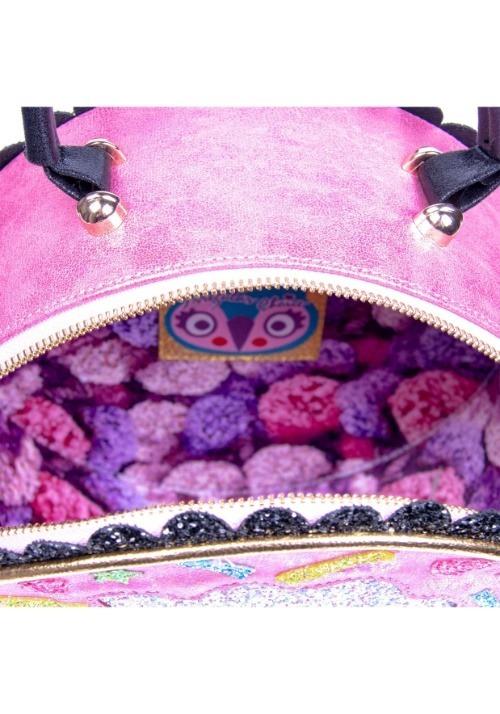 Irregular Choice Donut Worry Pink & White Handbag alt5