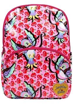 Irregular Choice Cupid Bird Pink Backpack alt1