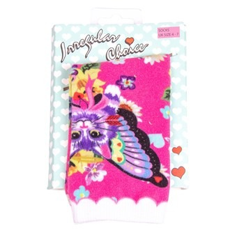 Irregular Choice Women's Mau Cat Print Socks