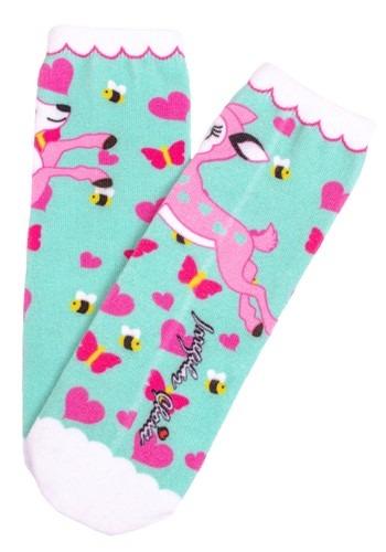 Irregular Choice Women's Fantastic Fawn Print Socks