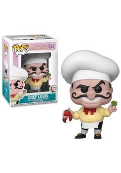 Funko Pop Disney Little Mermaid Chef Louis upd