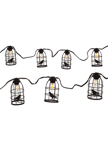Crow in Cage Light Set