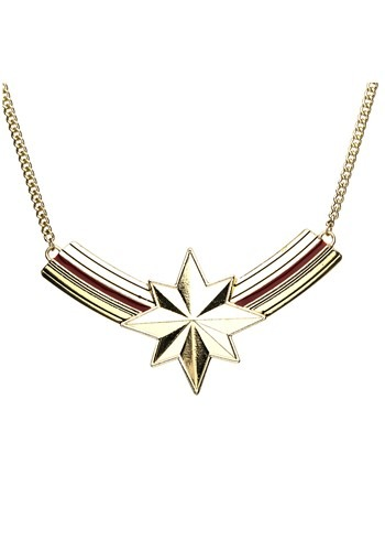 Captain Marvel Bib Necklace
