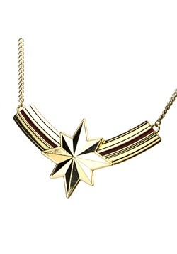 Captain Marvel Bib Necklace2