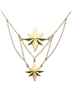 Tier Mat Captain Marvel Necklace
