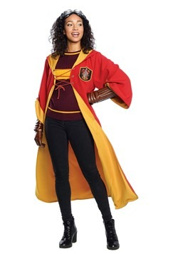Adult Gryffindor Quidditch Costume Harry Potter alt1