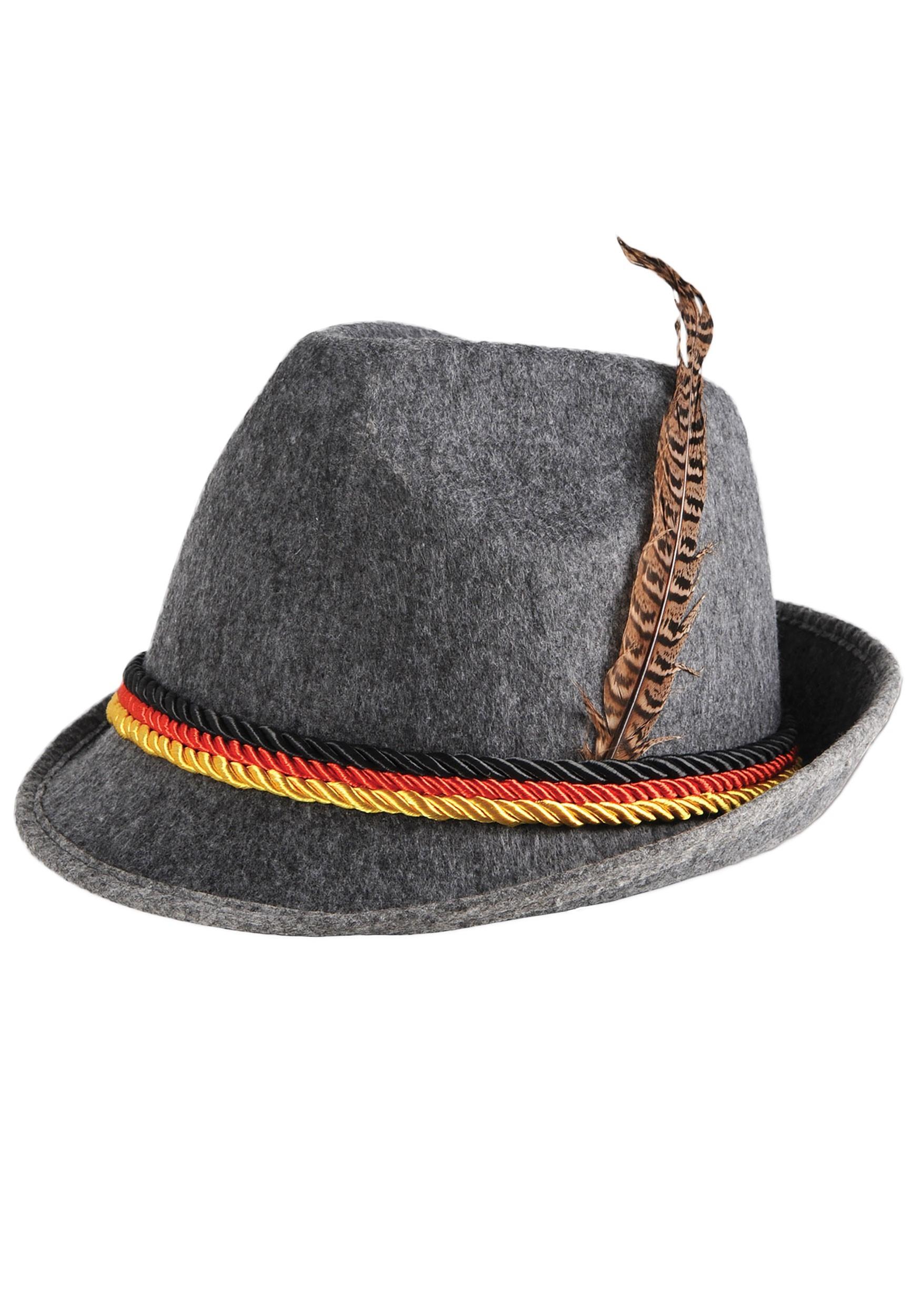 German_Grey_Alpine_Hat