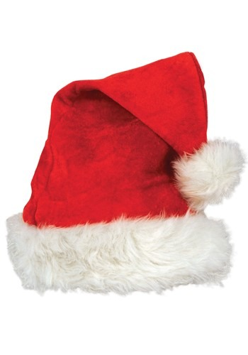 Velvet Santa Hat Deluxe