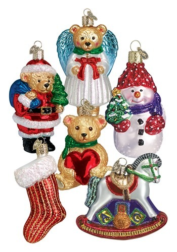 Child's 1st Christmas 6-Piece Ornament Collection