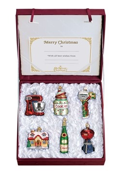 Housewarming 6 Piece Ornament Collection