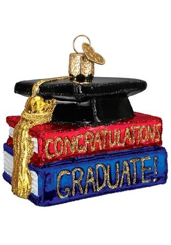Congrats Graduate Glass Blown Ornament