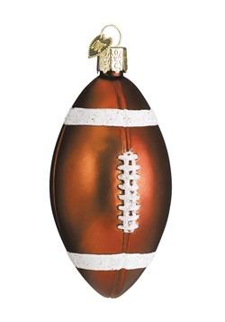 Football Glass Blown Ornament