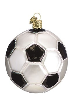 Soccer Ball Glass Blown Ornament