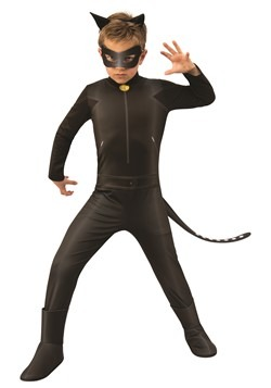 Miraculous Ladybug Child Cat Noir Costume