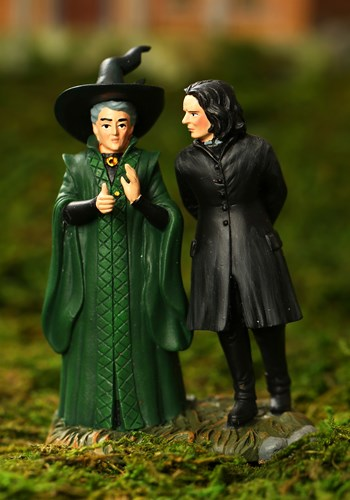 Harry Potter Snape & McGonagall Figuirine