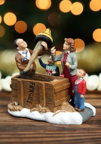 A Christmas Story Isn't Beautiful Leg Lamp Figure Display