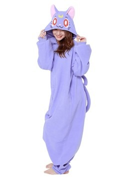 Sailor Moon Adult Luna Kigurumi1