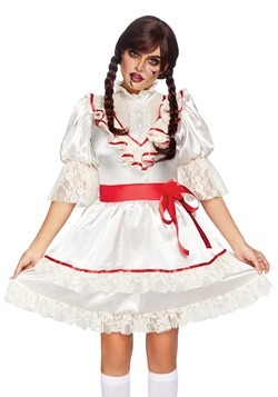 Women's Haunted Doll Dress Costume