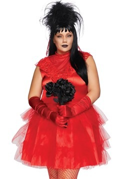 Beetle Bride Womens Plus Costume