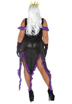 Womens Plus Size Sultry Sea Witch Costume alt 1