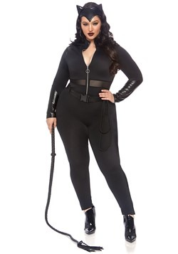 Women's Plus Sultry Supervillain Costume