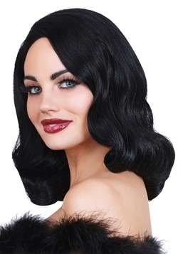 Hollywood: Black Glamour Wig 1