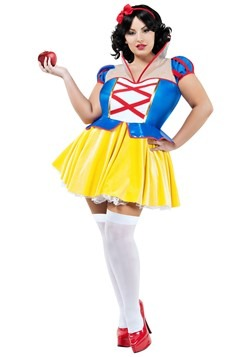 Women's Fairest Princess Plus Costume